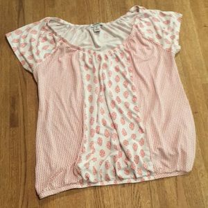 Old Navy patterned top, XS